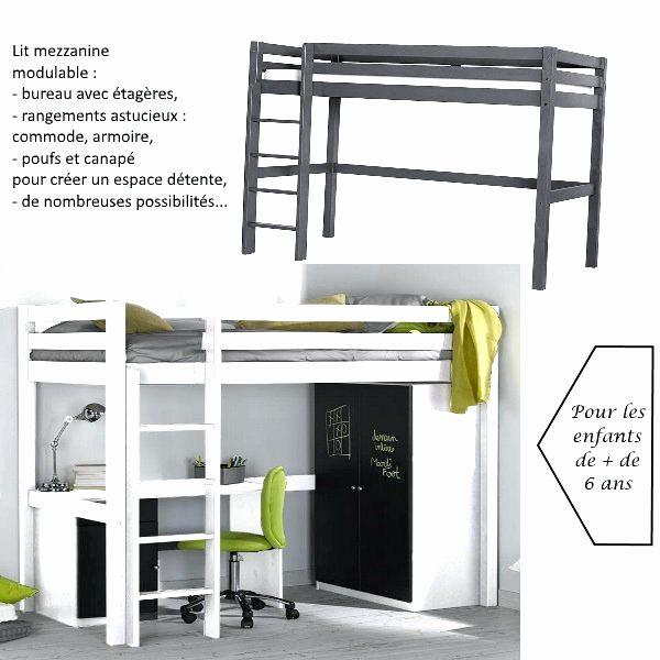 Fabriquer Un Lit Mezzanine Élégant Fabriquer Une Armoire Beau A Lit Bureau Inspirant 2 Places Beau