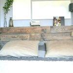 Fabriquer Une Tete De Lit En Bois Brut Le Luxe Lit Mezzanine Rangement Brillant Avec Adulte Construire Un Frais