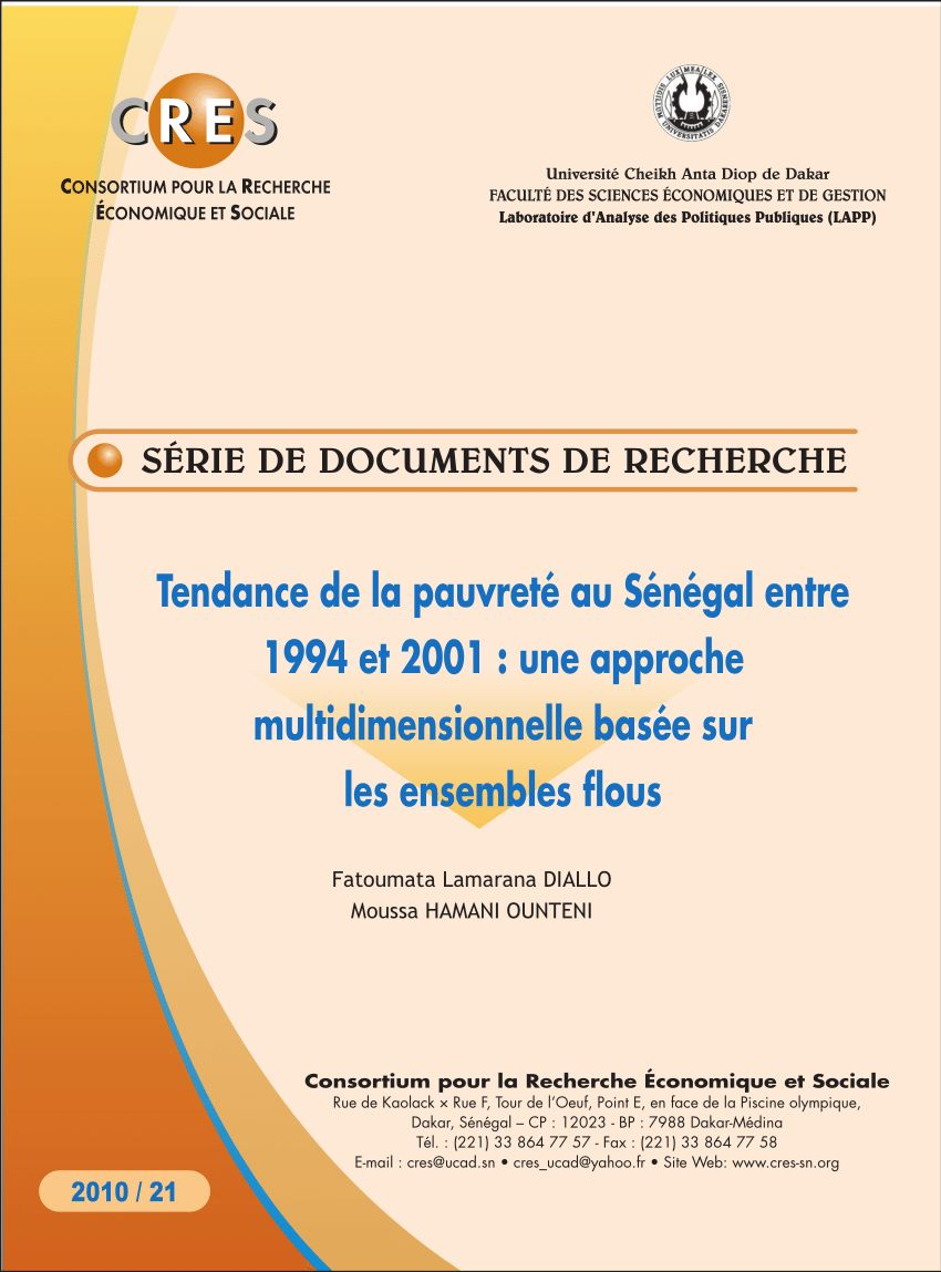 Faire Un Tour De Lit Frais Pdf Analysis And Measurement Of Poverty Univariate And