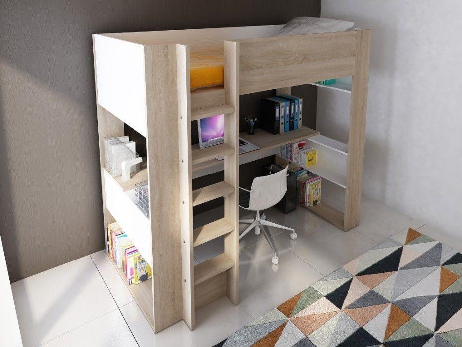 Fly Lit Mezzanine Douce Lit Mezzanine Noa Lit Bureau Unique Best Media Cache Ec0 Pinimg 550x