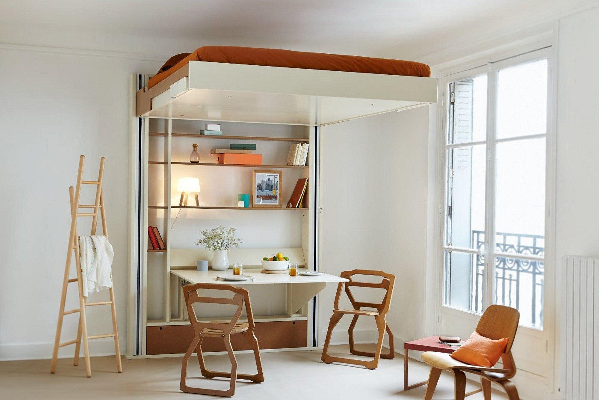 Fly Lit Mezzanine Nouveau Fascinant Lit Armoire 2 Places Dans Lit Mezzanine 2 Places Fly Lit