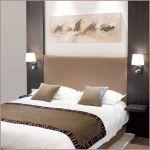 Grande Tete De Lit Impressionnant Chambre Decoration Taupe Et Blanc Beige Bois Diy Tete De Lit Grande