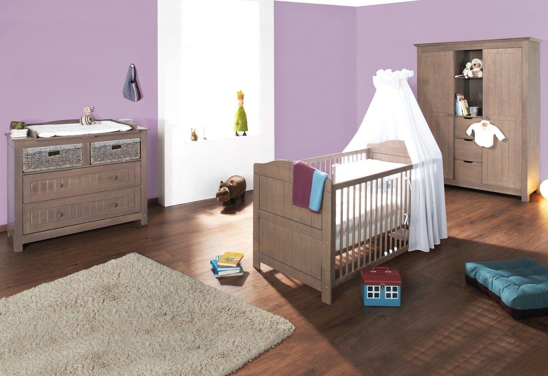 Housse De Couette Lit Bébé 60x120 Magnifique Chambre Bébé Bois Massif
