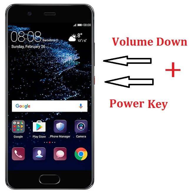 Huawei P10 screenshot guide Huawei Pinterest