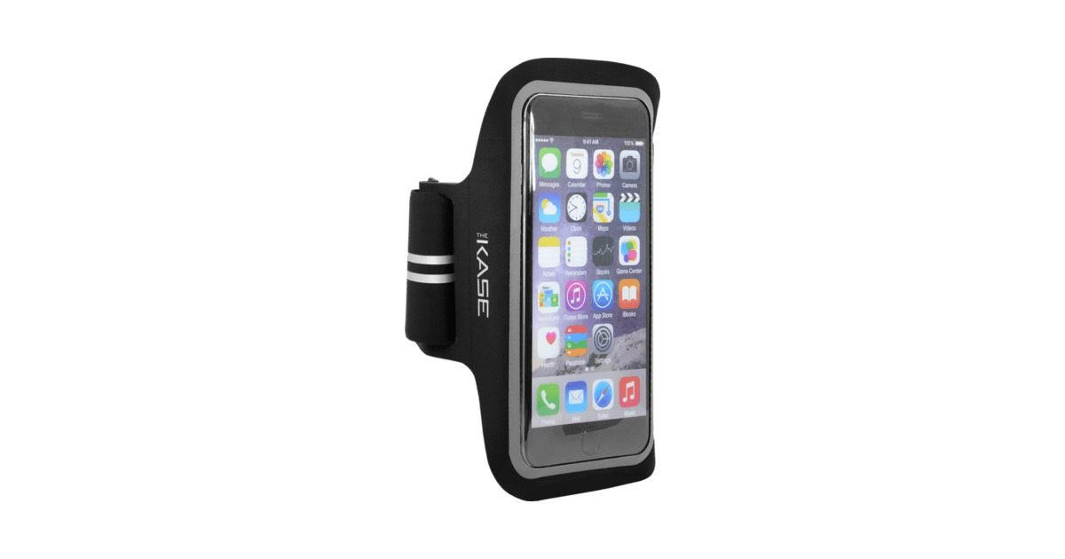 Ultra Slim Armband for Apple iPhone 6 Plus 6s Plus Black