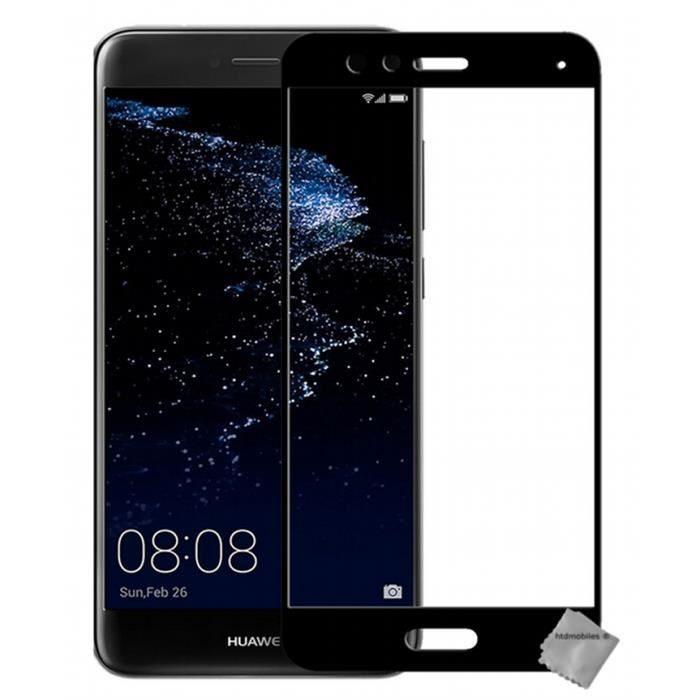 Huawei P10 Lite Pas Cher Nouveau De Protection Vitre Verre Trempe Incurve Integral Pour Huawei