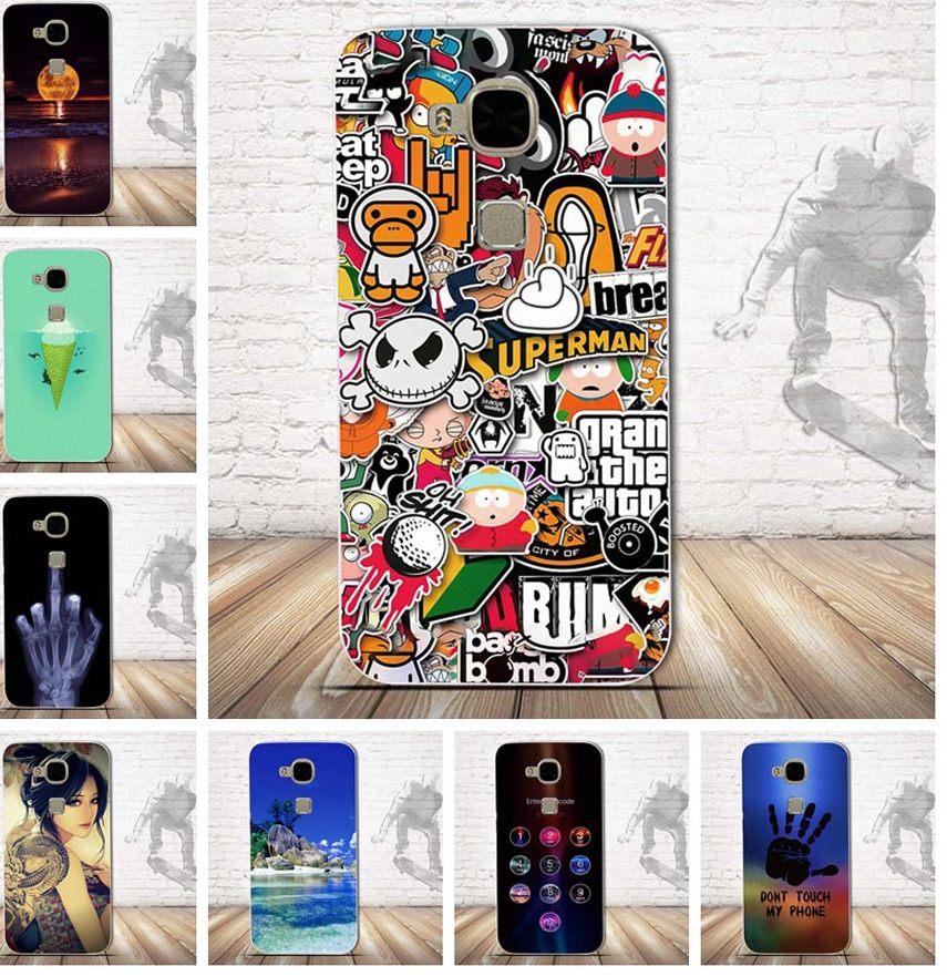 Huawei P20 Lite Pas Cher Beau Ù© ‿ ۶Роскошный мягкий чехоРTpu дРя Coque Huawei G8 сиРиконовый