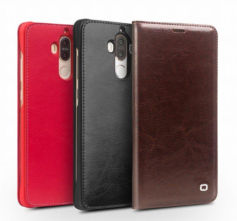Huawei P20 Lite Pas Cher Génial 3 вида цветов оригинаРьный Qialino бренд кожаный чехоРдРя Huawei
