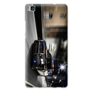 Huawei P8 Lite Pas Cher De Luxe Coque Huawei P8 Lite Pompier Police Voiture Achat Coque