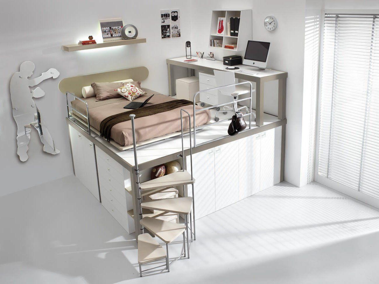 Ikea Linge De Lit Fraîche Chambre Ado Avec Mezzanine Lit Mezzanine Enfant Ikea Maison Design
