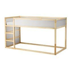 Ikea Lit Cabane Impressionnant Kura Reversible Bed White Pine for My Babies