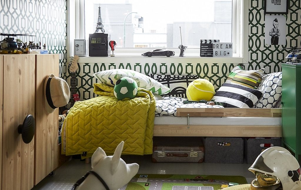 Ikea Lit D Enfant Joli Idées Inspirantes Tirées De Deux Chambres D Enfant Colorées