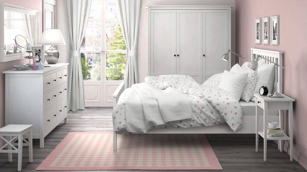 Ikea Lit Fille Bel Hemnes Bedroom Bedrooms Pinterest