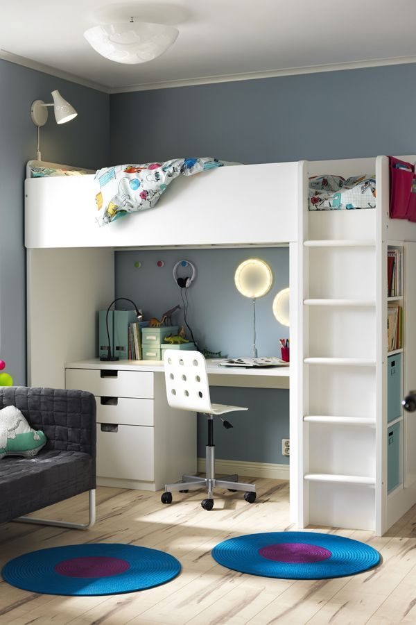 Ikea Lit Fille Magnifique Put Your Home In Back to School Mode the Ikea Stuva Loft Bed with