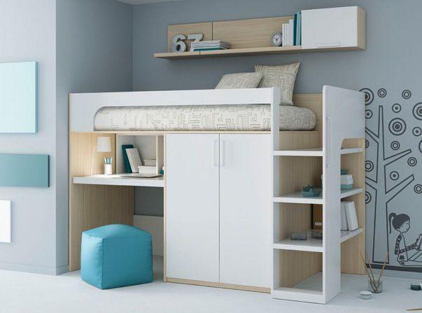 Ikea Lit Surélevé Agréable Lit Mezzanine Pact Awesome Lit Mezzanine Studio Pour Avec Salon
