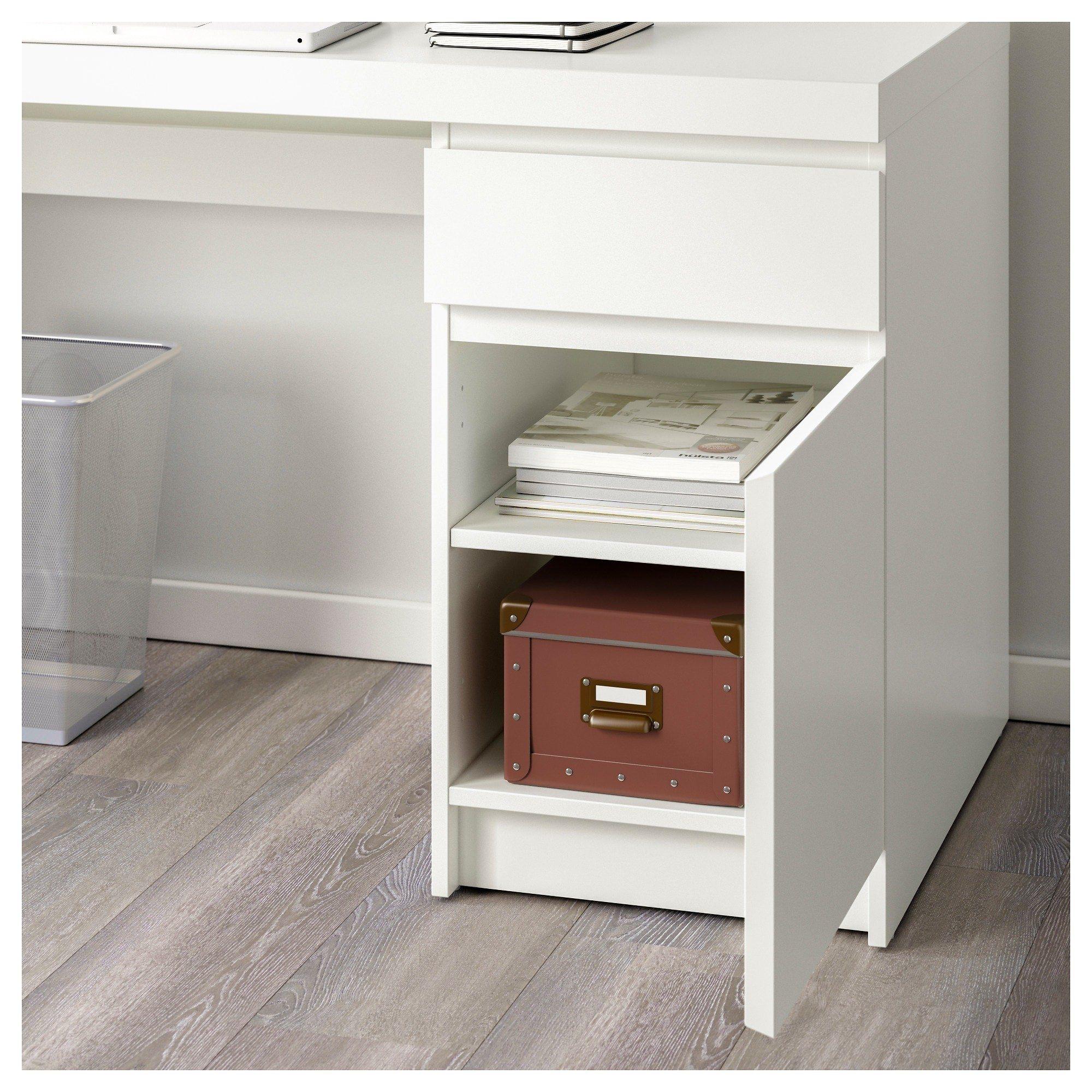 Ikea Malm Lit Coffre De Luxe Bureau Ikea Blanc