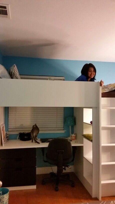 Ikea Stuva Lit Frais Ikea Stuva Loft Bed She Loves It the Ladder is Only for the Right