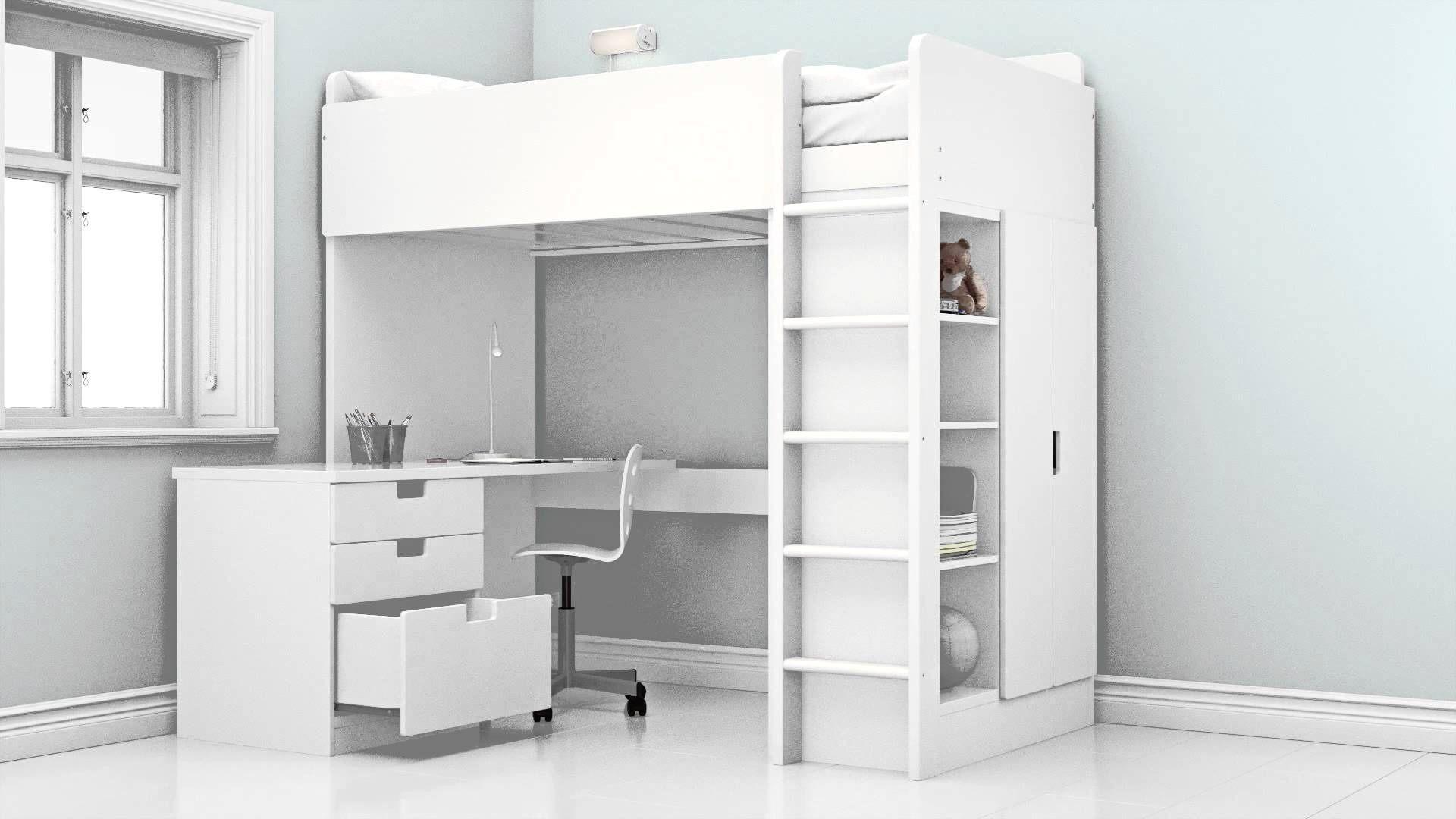 Ikea Stuva Lit Nouveau Lit Ado Ikea élégant Lit Ado Design Génial ¢‹†…¡ Lit Bureau Unique