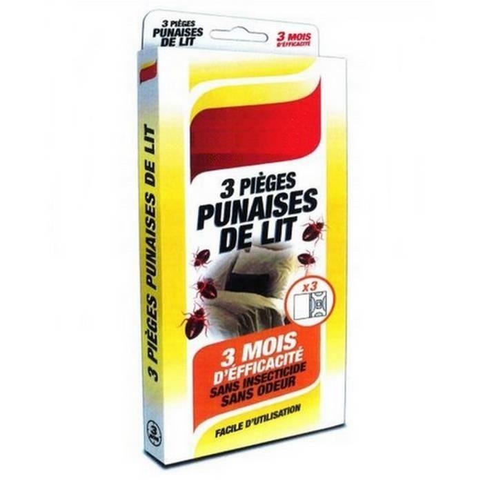 Insecticide Punaise De Lit De Luxe Détecteurs Pi¨ges Pour Punaises De Lit X 3 Achat Vente Punaise