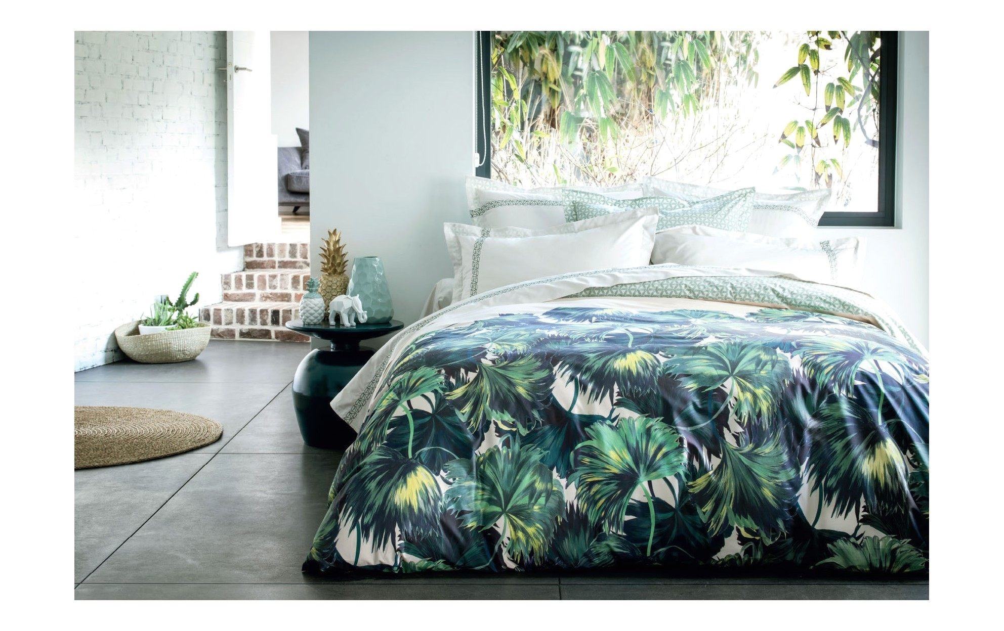 Linge De Lit Becquet Luxe D Co Want Une Couette Jungle Housse De Couette Tropical Couette