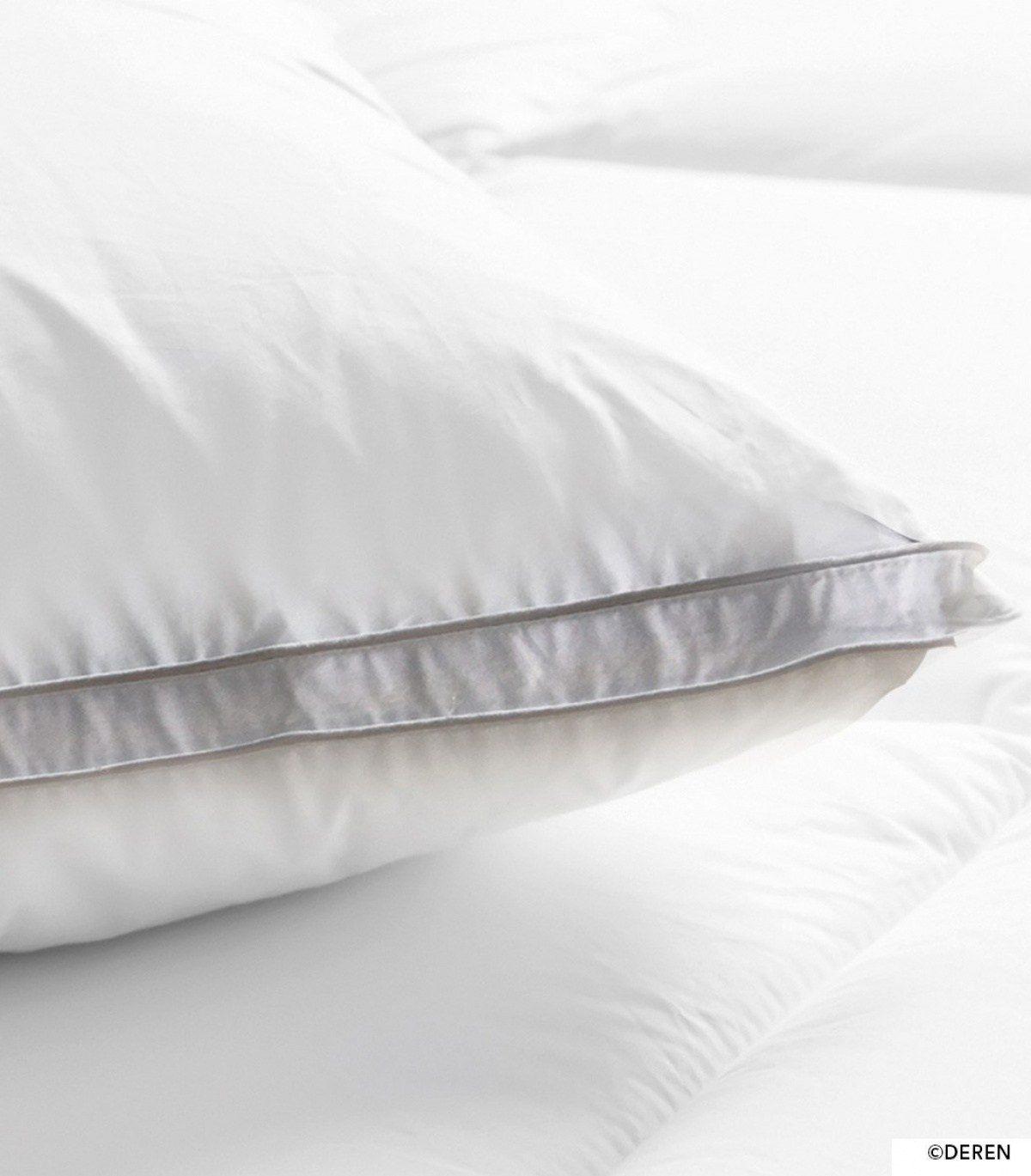 Linge De Lit Blanc Charmant oreiller Qualité