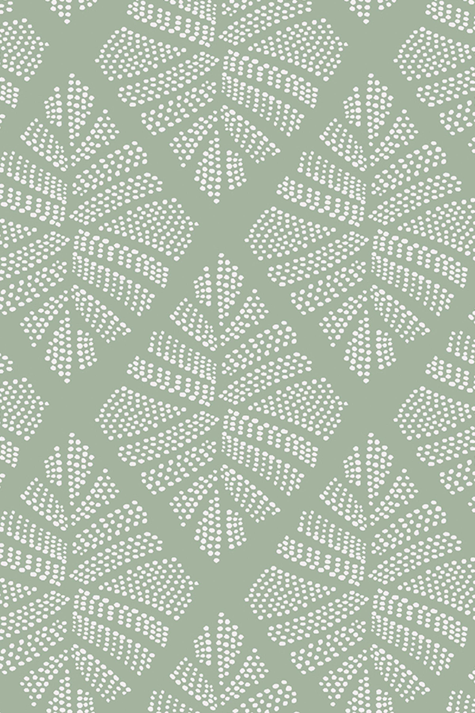 Linge De Lit Coton Bel Motif Esprit Végétal Vert Lichen Retrouvez Cet Imprimé Sur Le Linge
