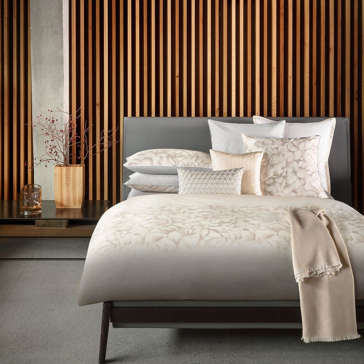 linge de lit descamps destockage inspir lit haut de gamme l gant lit