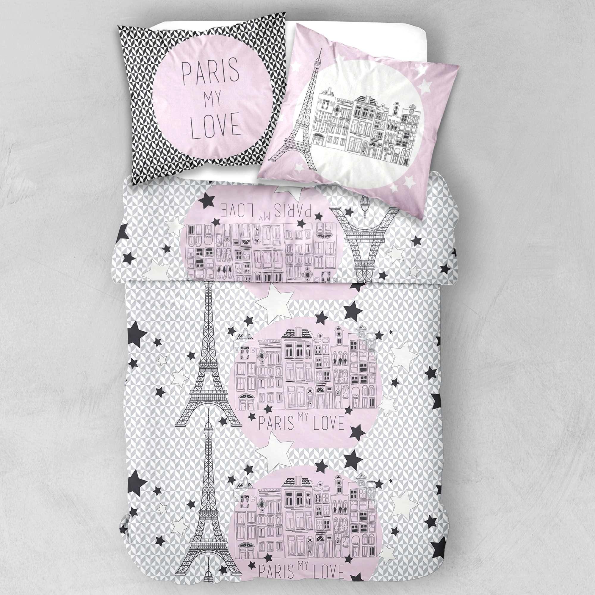 linge de lit en lin lav fra che parure de lit paris. Black Bedroom Furniture Sets. Home Design Ideas