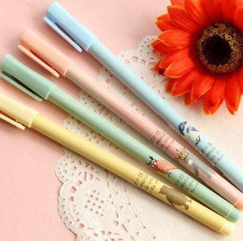 Linge De Lit En Lin Lavé Inspirant 1 шт Kawaii Сова серии геРевая ручка шкоРьные Ручки корейский стиРь