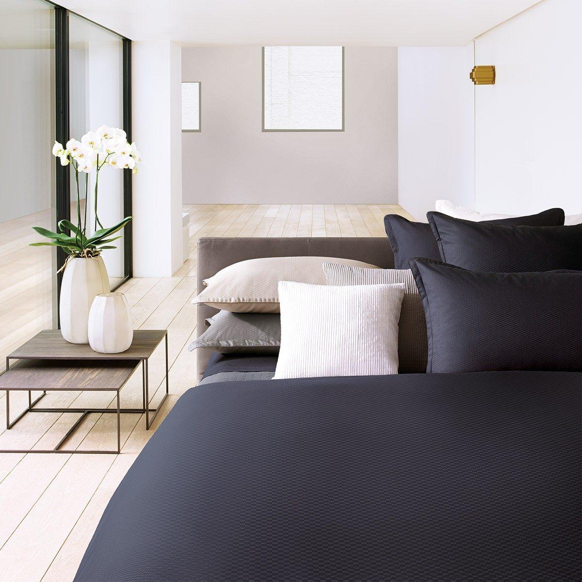 Parure de lit Hugo boss Loft Carbon Linge de lit haut de gamme