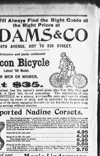 Linge De Lit Lin Lavé soldes Agréable the Sun New York [n Y ] 1833 1916 November 01 1896 1 Page 12