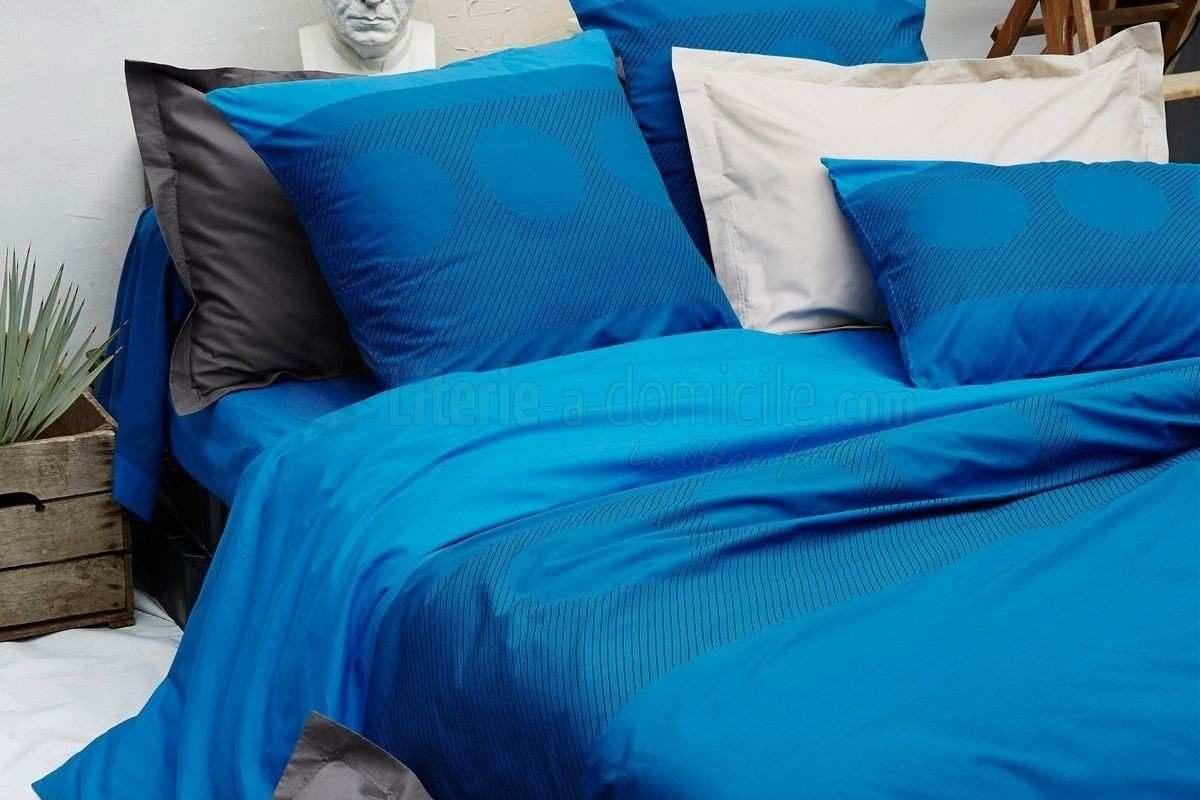 Linge De Lit Percale soldes Impressionnant La Redoute Linge De Lit Percale Parure De Lit Bleu Linge De Lit
