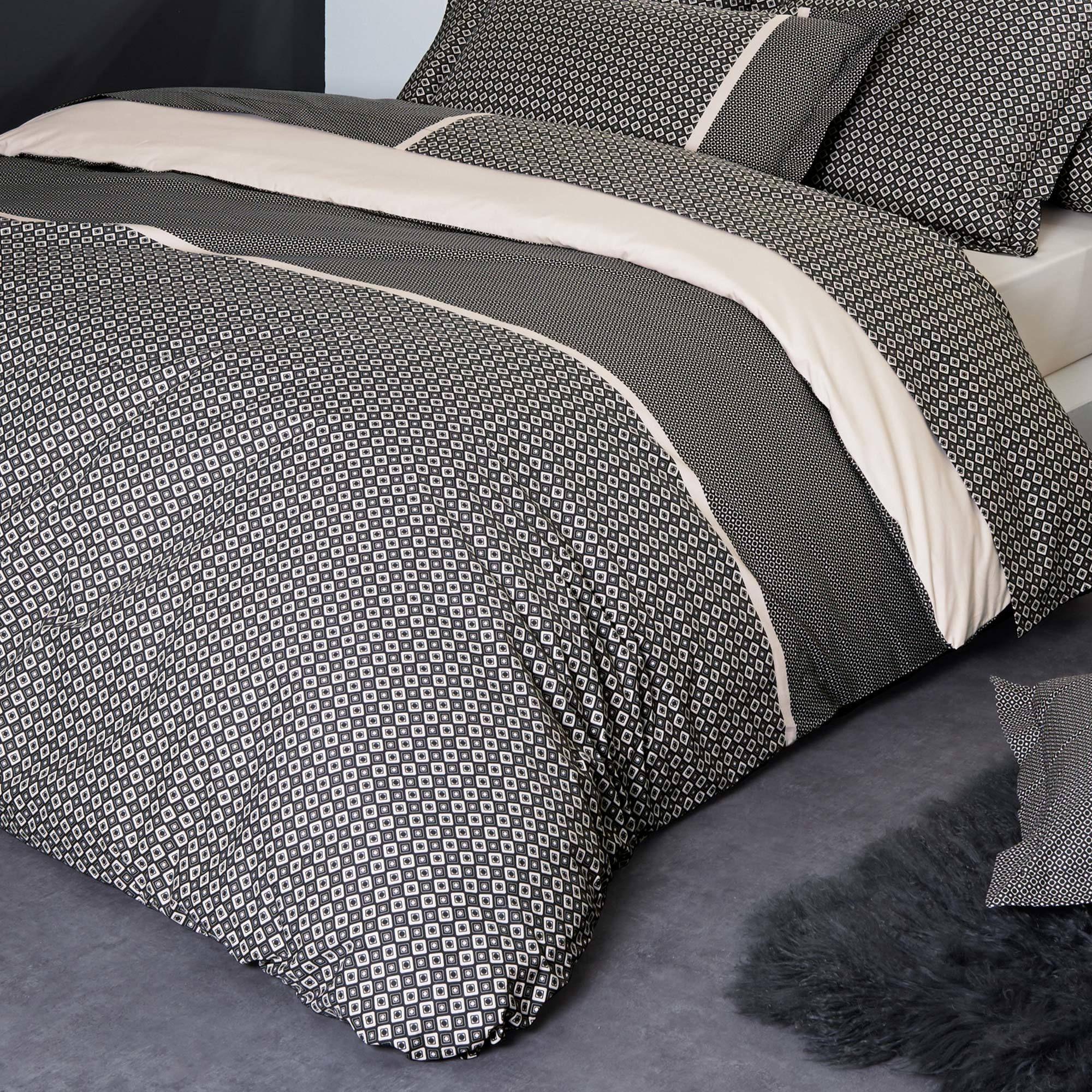 Linge De Lit Satin De Coton Le Luxe Parure De Lit Percale Pur Coton Peigné 300×240 Cm Gatsby