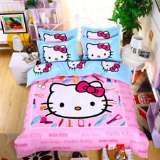 Linge De Lit today Agréable Hello Kitty Full Sheets & Pillowcases