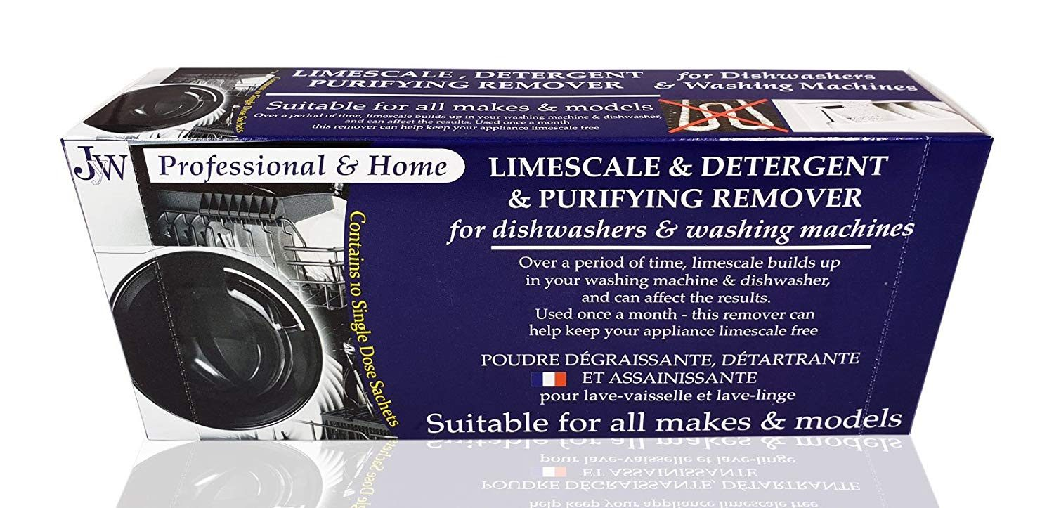 Linge De Lit today Luxe Limescale & Detergent Remover for Washing Machines & Dishwashers 10