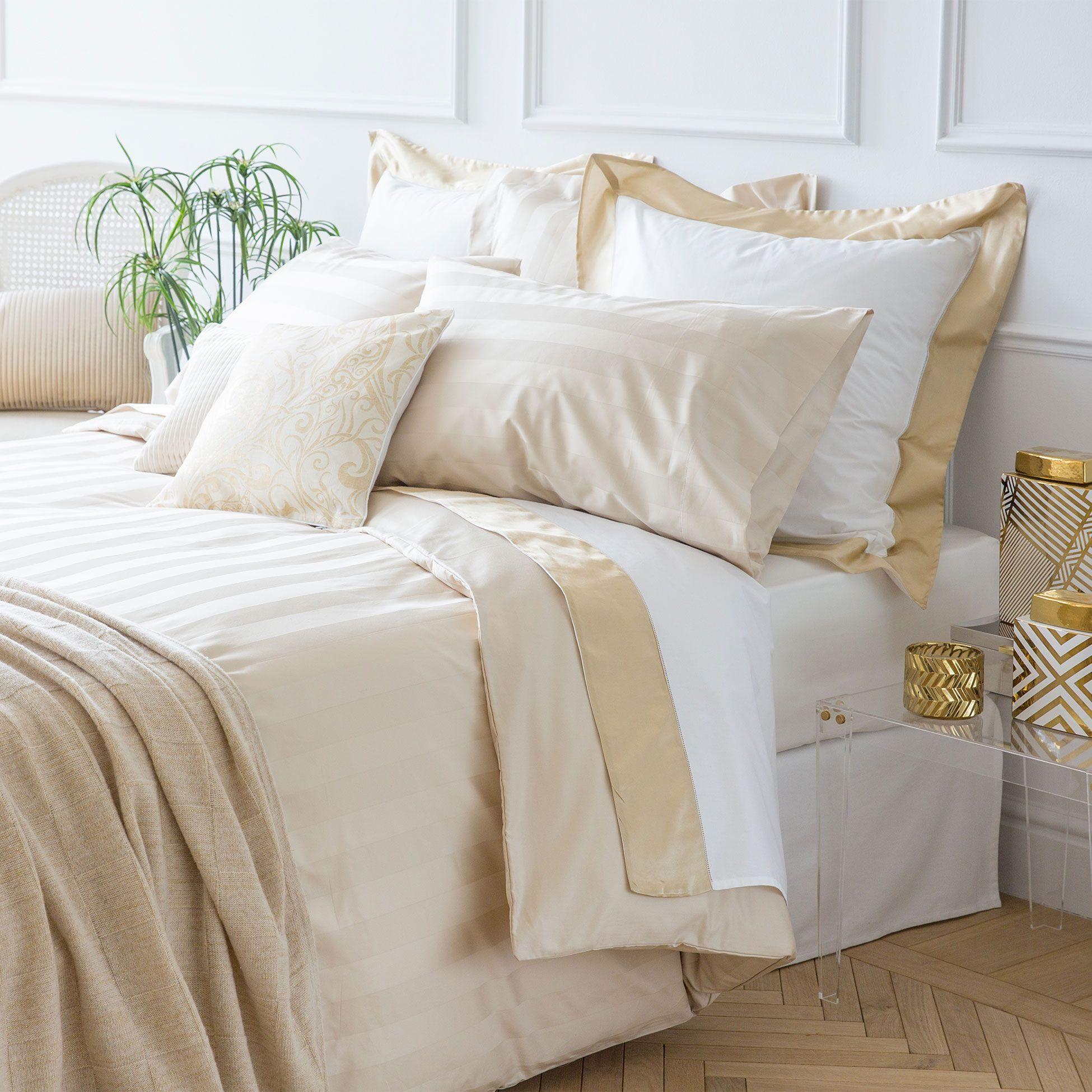 Linge De Lit Zara Home Unique Satin Jacquard Bedding Bedding Bedroom