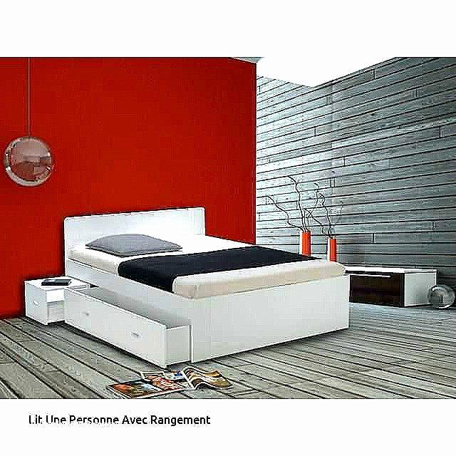 Lit 1 Place Avec Rangement De Luxe Lit Coffre Avec Tiroir Frais Structure Lit Ikea Frais S 27 Beau Lit