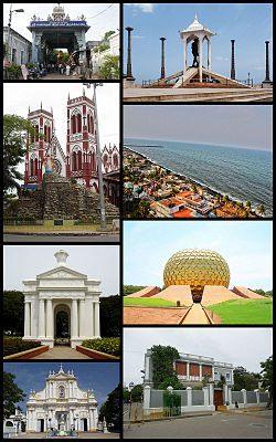 Lit 1 Place Blanc Inspiré Pondicherry