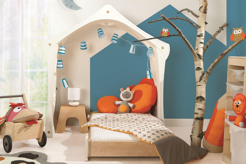 Lit 1 Place Enfant Joli Extens Lits Superposés 1 Place Blancs Modulables 90x200cm Lit Enfant