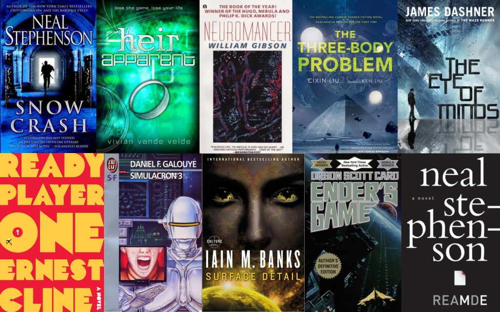 Lit 1 Place Et Demi Agréable Reading List 50 Scifi Books Featuring Ar And Vr Technology Uploadvr