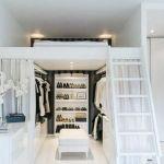 """Lit 1 Place Mezzanine Impressionnant Lit Mezzanine Avec Dressing Garderoba Styl nowoczesny Zdj""""â""""¢cie Od"""