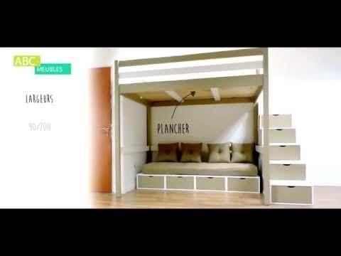 Lit 1 Place Mezzanine Nouveau Deco Lit Mezzanine Mezzanine Bureau Unique Deco Maison Design Best