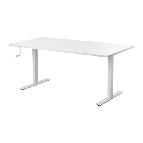 Lit 120 Ikea Douce Skarsta Desk Sit Stand Ikea