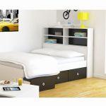 Lit 140 Avec Tiroirs Rangement Agréable Lit 140 Avec Tiroirs Rangement Tete De Lit Blanc 140 Maison Design