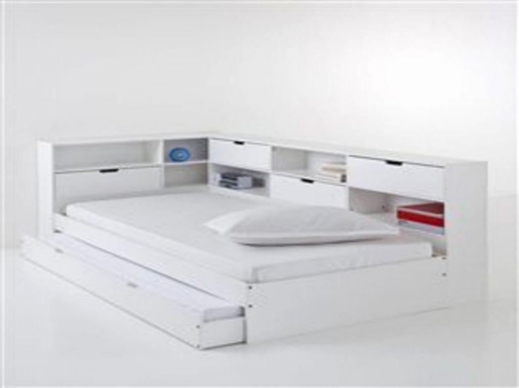 Lit 160×200 Avec Rangement Intégré Belle Lit 160—200 Avec Rangement Intégré Génial Lit Avec Rangement Intégré