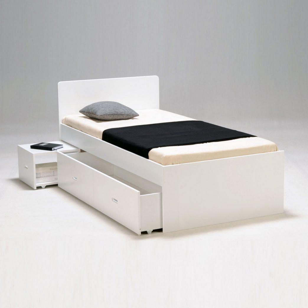 Lit 160×200 Avec Rangement Intégré Luxe Lit Une Place Cdiscount