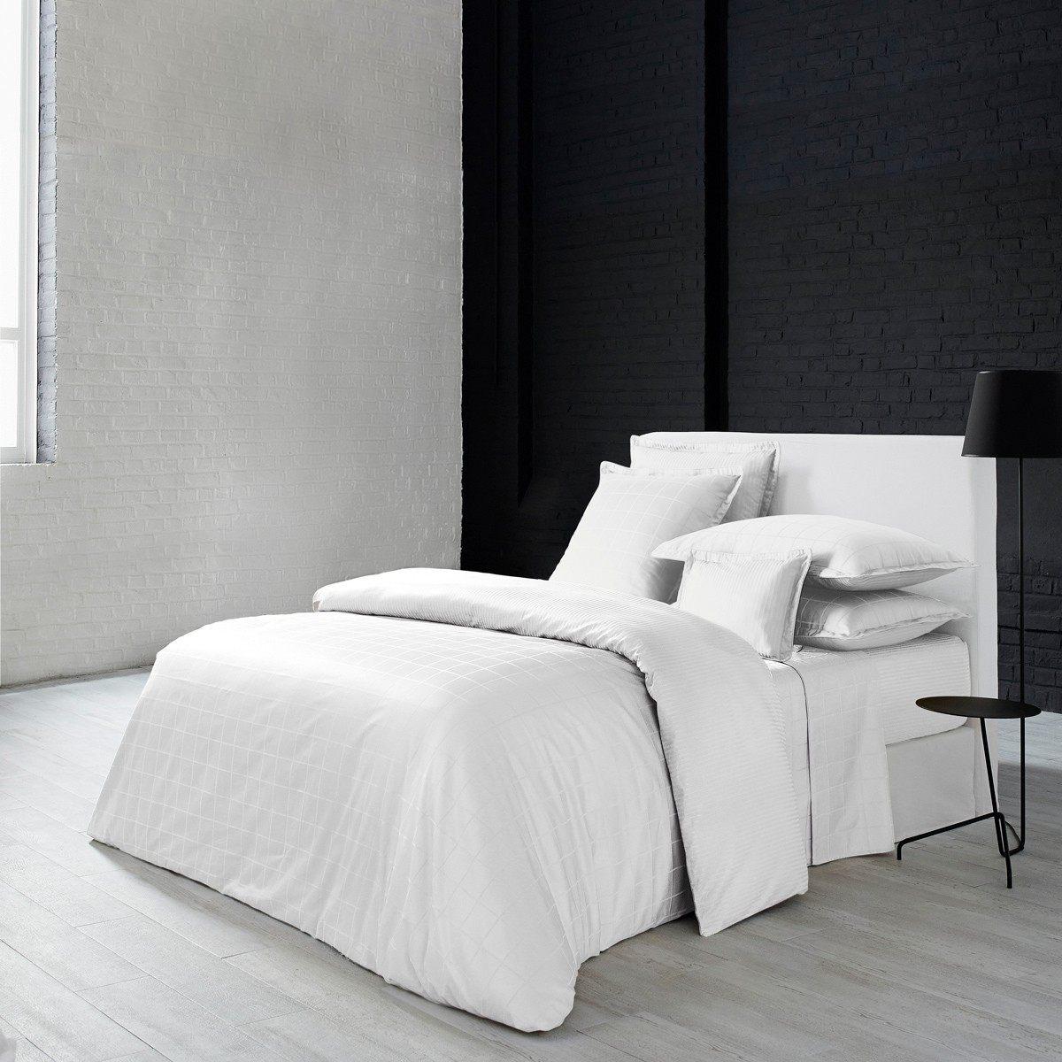 Lit 160×200 Blanc Nouveau Taille Couette Lit 2 Personnes Taille Drap Lit 160—200