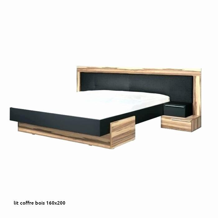 Lit 160×200 Coffre Beau Lit 180—200 Bois Massif Collections De Dessins Lit 160—200 Bois