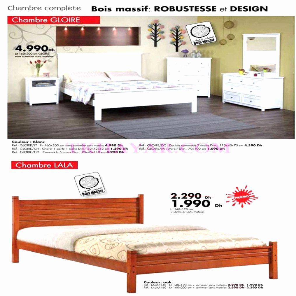 Lit 160×200 soldes Magnifique Beau De Bois De Lit 160×200