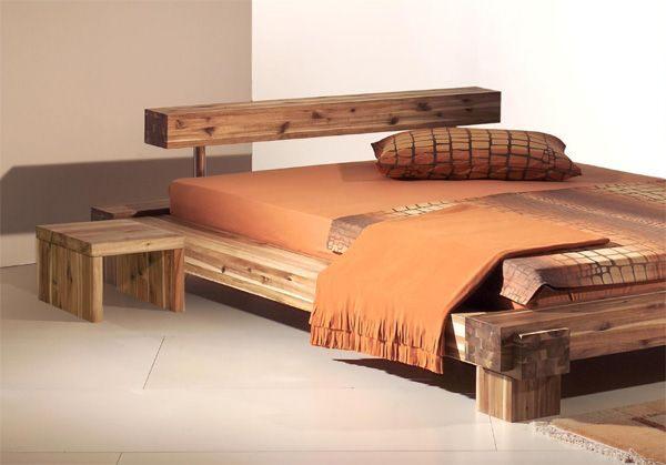 lit en bois design Projects